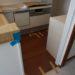 床のリフォーム その2(キッチン)